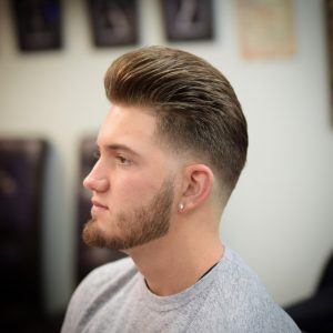 Phily's Cuts, men's haircut, haircut, fade, skin fade, pompadour, beard, barber, Barber shop