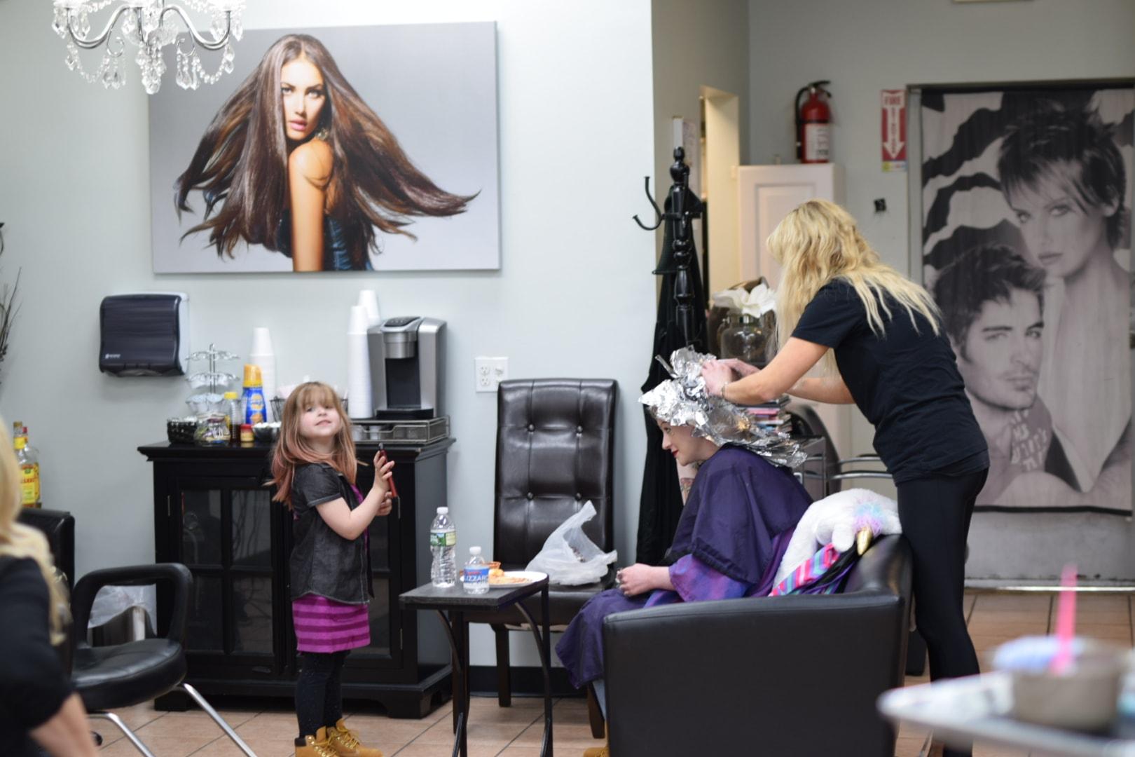 Phily's Cuts, haircare, hair, Brick NJ, Salon, Foils