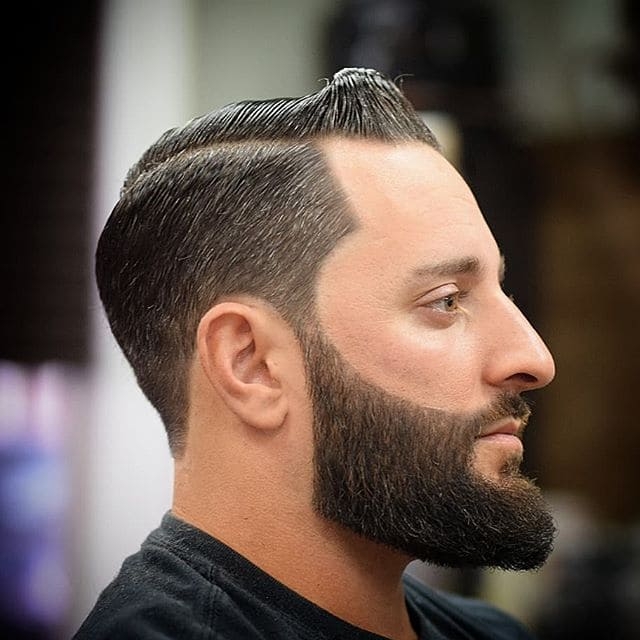 Phily's Cuts, Brick NJ, Barber, Barber, barbershop, beard, combover, hard part, styled with hunter 1114