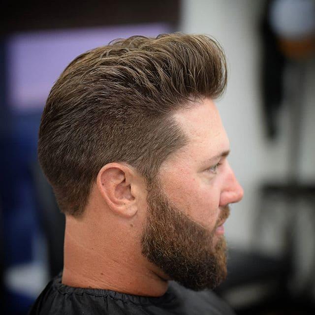 Phily's Cuts, Brick NJ, Hair, Haircare, Hair style, Hunter 1114, Beard, Pompadour, line up, shape up