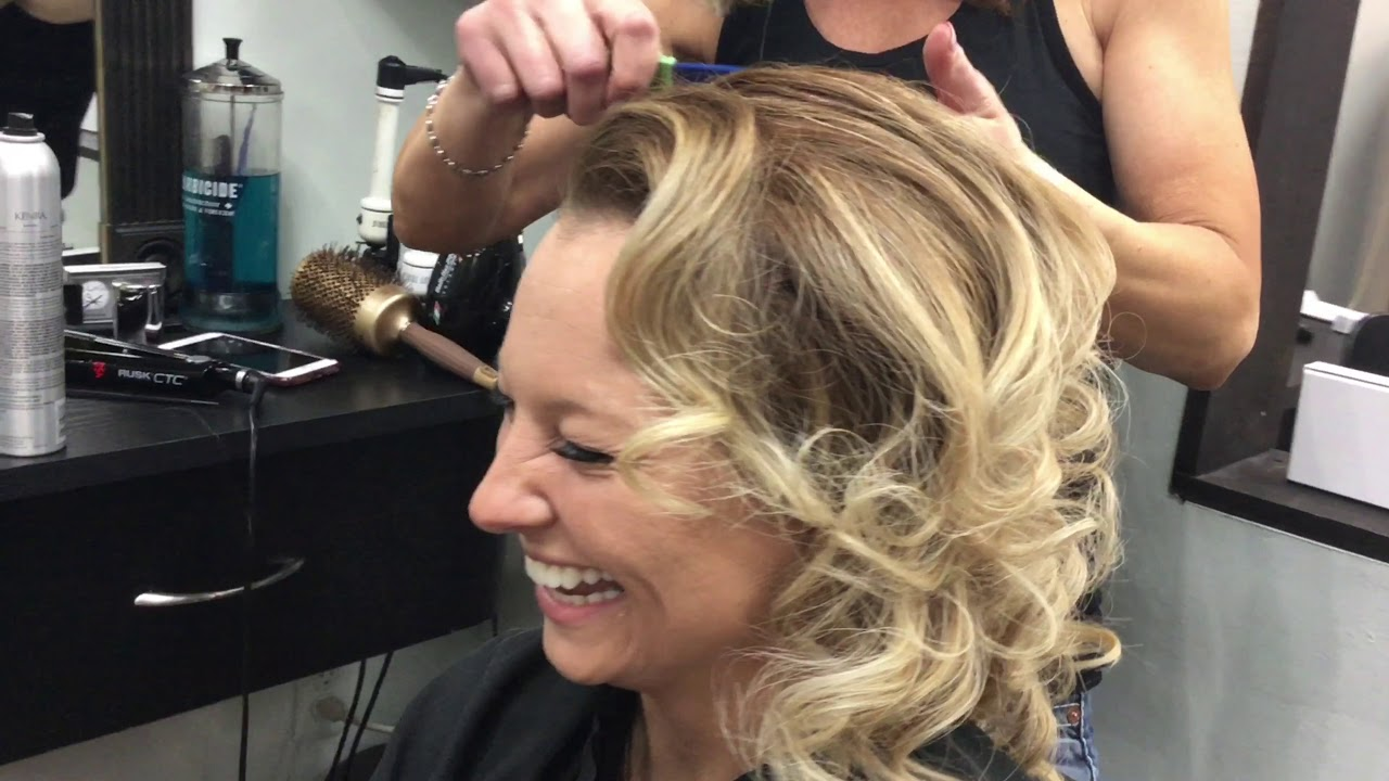 Phily's Cuts, Brick NJ, Hairdresser, Hair, Hairdo, Blonde, Curls, Stylists, Beauty Salon